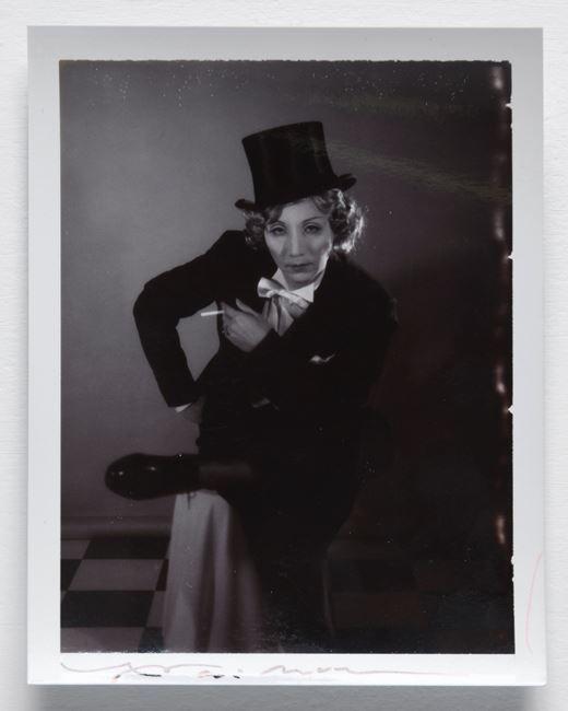 Mannish Marlene Dietrich by Yasumasa Morimura contemporary artwork