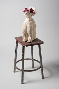 Zig-Zag by Pie Rankine contemporary artwork sculpture, ceramics