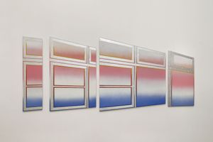 Rainbow Sequence: #7 by Kichang Choi contemporary artwork painting