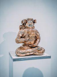White Universe by Joseph Klibansky contemporary artwork sculpture