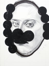 Sind wir alle by Franz Graf contemporary artwork mixed media