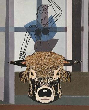 Le rapt d'Europe by Eduardo Arroyo contemporary artwork