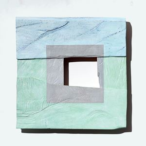 Small Grey Square by Young-Rim Lee contemporary artwork
