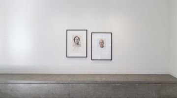 Contemporary art exhibition, Billy Apple, Head Height and other self-portraits at Hamish McKay, Wellington, New Zealand