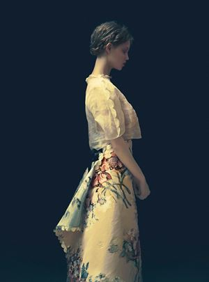 The Milkmaid 2, The Garden by Erik Madigan Heck contemporary artwork