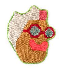 Katherine Bradford by Caroline Wells Chandler contemporary artwork textile