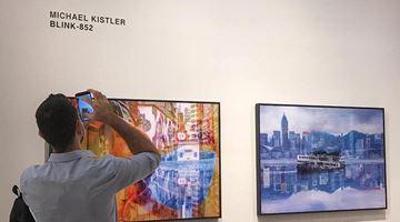 Contemporary art exhibition, Michael Kistler, BLINK-852 at Blue Lotus Gallery, Hong Kong