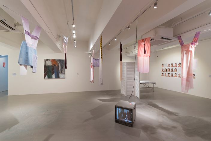 Exhibition view: Group exhibition, Bicycle Thieves, Para Site, Hong Kong (29 June–1 September 2019). Courtesy Para Site. Photo: Yi Yi Lily Chan.