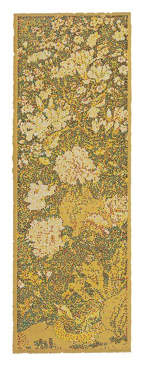 CMYK - Five dynasties/Xu Xi/ Magnolia Auspice Painting No.1 by Yang Mian contemporary artwork