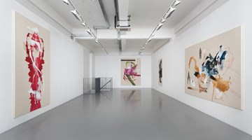 Contemporary art exhibition, Elizabeth Neel, Vulture and Chicks at Pilar Corrias, London