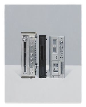 Stereo Stack III by ALLAN BENNETTS contemporary artwork