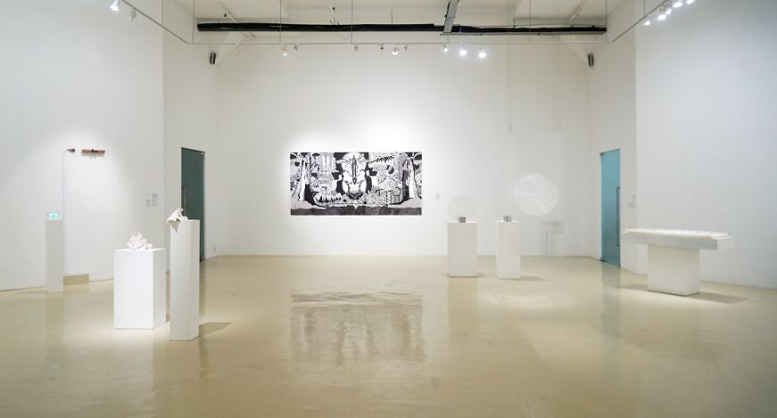 Exhibition view: New Now V: Towards Unlearning, Gajah Gallery, Singapore (27 August–19 September 2021). Courtesy Gajah Gallery.