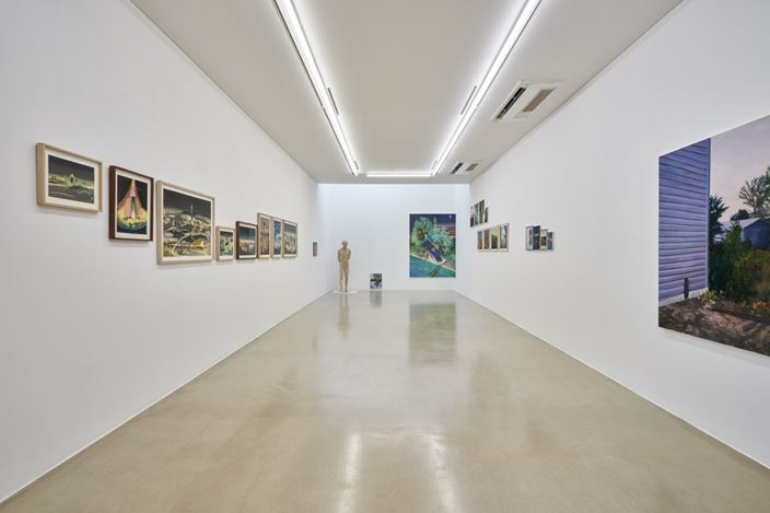 Exhibition view: Group Exhibition, Manners of Representation: A Piece of Cake, ONE AND J. Gallery, Seoul (17 December 2020–17 January 2021). Courtesy ONE AND J. Gallery. Photo: Euirock Lee.