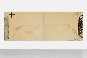 Díptic dels sobres by Antoni Tàpies contemporary artwork
