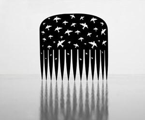 Comb (Black) by Lonnie Hutchinson contemporary artwork