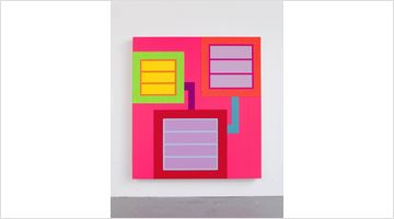 Contemporary art exhibition, Peter Halley, Three Paintings at Almine Rech, Shanghai