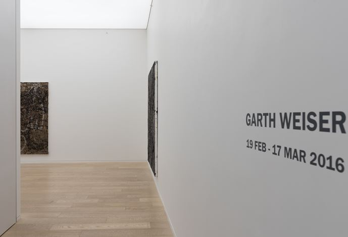 Exhibition view of Garth Weiser, solo exhibition at Simon Lee Gallery, Hong Kong. Courtesy of the artist, Simon Lee Gallery and Kitmin Lee Photo.