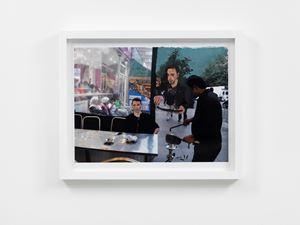Egyptian Restaurant 8 by Liu Xiaodong contemporary artwork