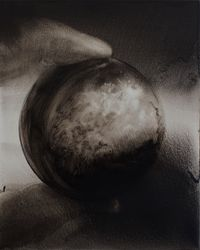 Staring no.3 by Lu Chao contemporary artwork painting, works on paper