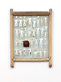 Die Ausnahme by Daniel Spoerri contemporary artwork sculpture