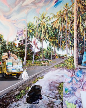 Hole in Paradise by Kevin Chin contemporary artwork