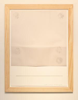 Work on Paper 3 Gesture by Noriyuki Haraguchi contemporary artwork