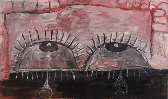 Tears by Philip Guston contemporary artwork