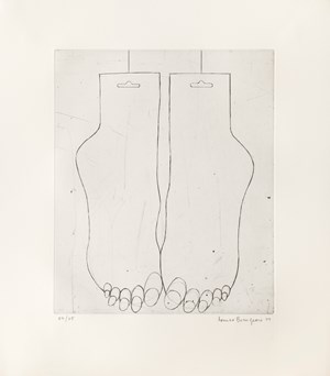 Feet by Louise Bourgeois contemporary artwork