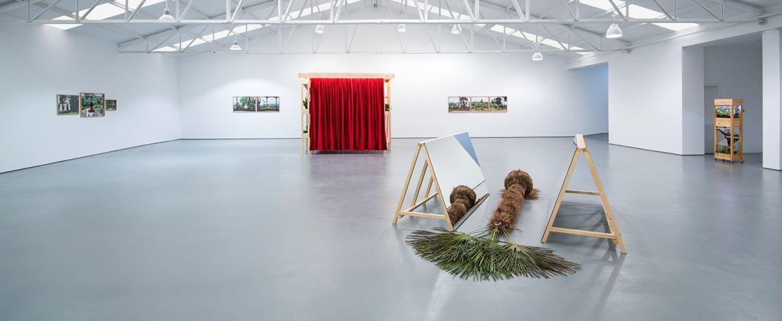 Exhibition view: Mónica De Miranda, All that burns melts into air,Sabrina Amrani, Sallaberry, 52, Madrid (28 November 2020–16 January 2021). Courtesy Sabrina Amrani.