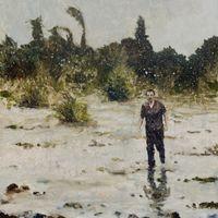 Wayfarer by Jake Aikman contemporary artwork painting