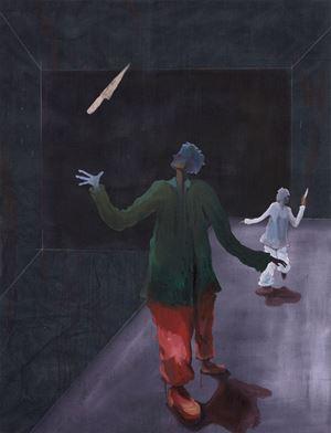 Schwertschlucker by Pierre Knop contemporary artwork