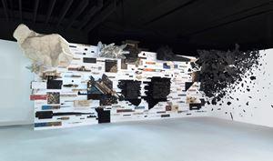Number 123X by Leonardo Drew contemporary artwork