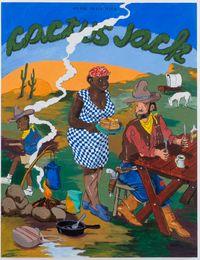 Cactus Jack by Robert Colescott contemporary artwork painting