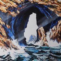 Guiding Light by Neil Frazer contemporary artwork painting