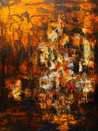 Alas Kobong/The Forest Is Burning by Gatot Pujiarto contemporary artwork textile