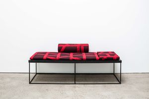 Daybed 02 (BMS) by Eva Rothschild contemporary artwork