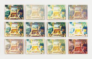 Bulldozers by Alain Jacquet contemporary artwork