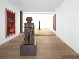 """Huma Bhabha<br><em>The Setup</em><br><span class=""""oc-gallery"""">Xavier Hufkens</span>"""
