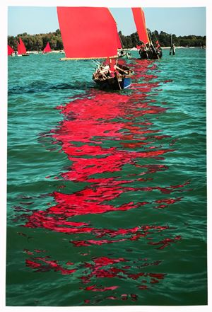 Red Regatta (Regatta) by Melissa McGill contemporary artwork