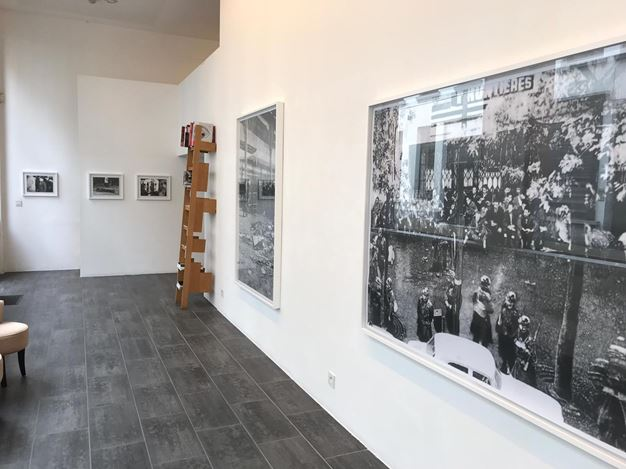 Exhibition view: Éric Manigaud, R.A.S. (rienà signaler), Gallery FIFTY ONE TOO, Antwerp (5 February–6 April 2019). Courtesy Gallery FIFTY ONE.
