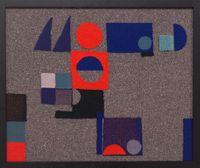 Wohnzimmer Teppich (in wolle) by Julia Holderness contemporary artwork sculpture