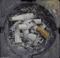 Gray Ashtray by Huang Kui contemporary artwork painting