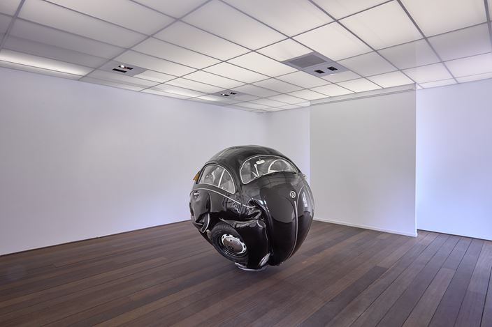 Exhibition view: Ichwan Noor, Beetle Sphere, Reflex Amsterdam (26 May–30 June 2018). Courtesy Reflex Amsterdam.