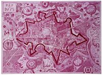Map of Days (colour versions) by Grayson Perry contemporary artwork print