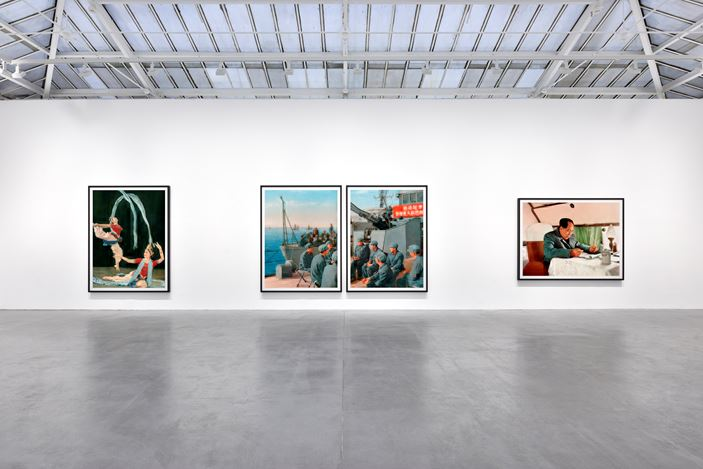 Exhibition view: Thomas Ruff,tableaux chinois, David Zwirner, Paris (14 January–6 March 2021). Courtesy David Zwirner.