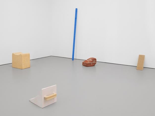Exhibition view: Group Exhibition, This is Not A Prop, David Zwirner, 19th Street, New York (27 June–3 August 2018). Courtesy David Zwirner.
