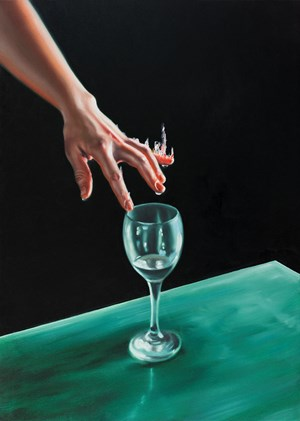 The Glass Harmonica III by David O'Kane contemporary artwork