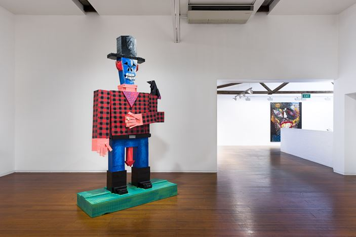 Exhibition view: David Griggs, Mankini Island, Roslyn Oxley9 Gallery, Sydney (7–29 February 2020). Courtesy Roslyn Oxley9 Gallery. Photo: Luis Power