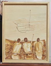 Continued Scene No.180208 被延续的情景 NO.180208 by Chen Yujun contemporary artwork works on paper