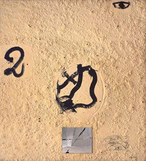 Materia-mirall by Antoni Tàpies contemporary artwork
